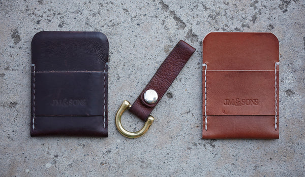 LEATHER CARDHOLDER (More Options)