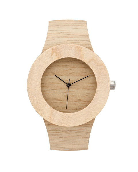 Silverheart + Maple Wood Watch (More Options)