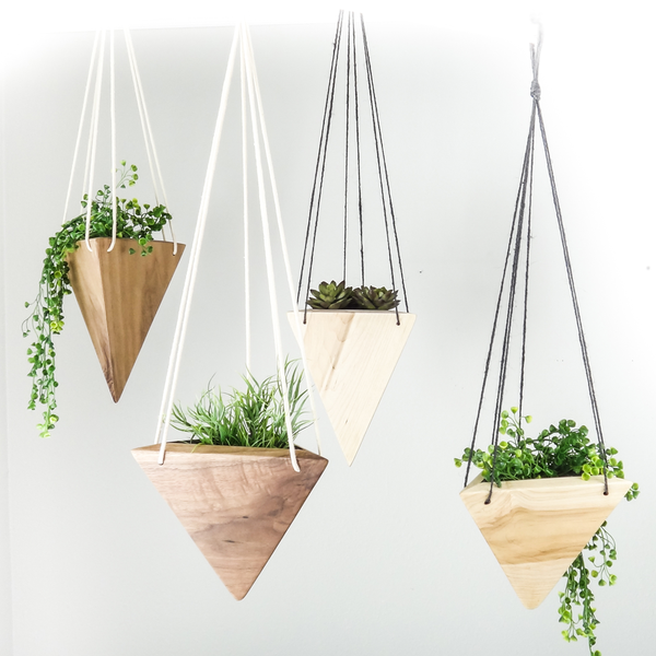 Geometric Hanging Planter (More Options)
