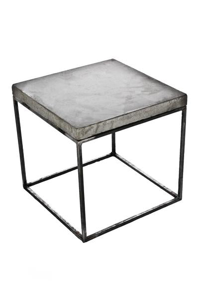 Oakland Concrete Cube Side Table (More Options)