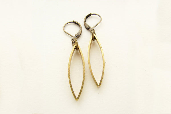 Abstract Drop Earrings ---