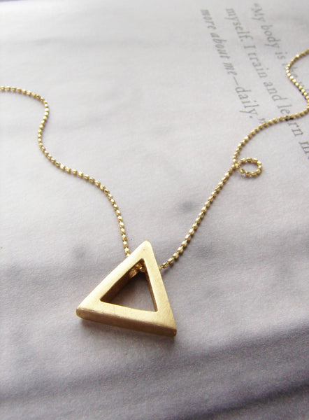 Exclusive Triangle Necklace