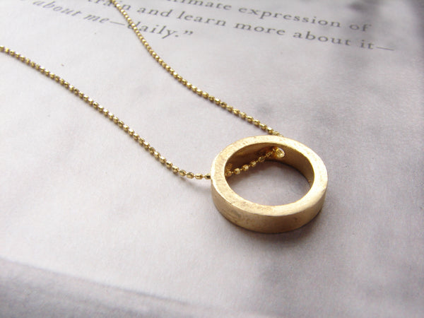 Exclusive Infinity Circle Necklace