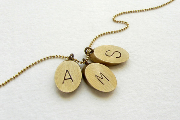 Custom Initial Necklace (More Options)