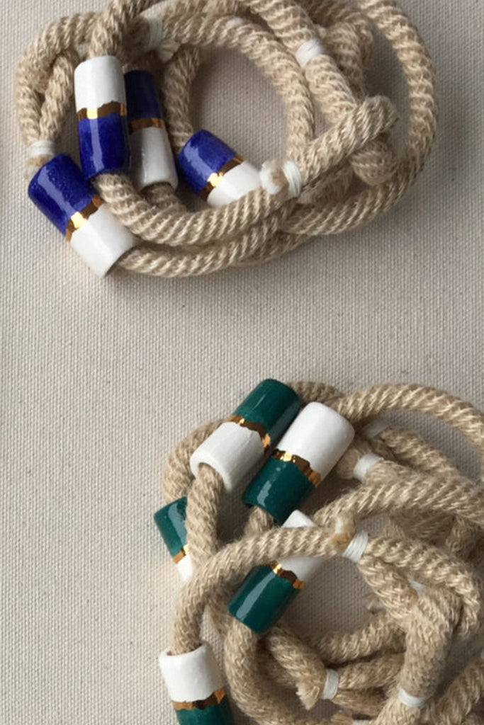 Ceramic Bead Rope Bracelet (More Colors)