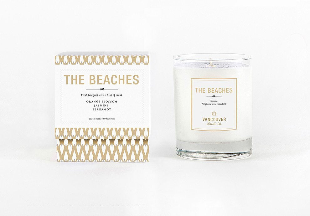 The Beaches Candle