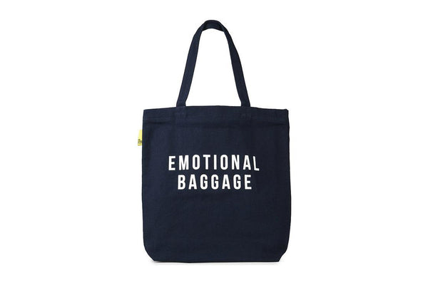 Navy Emotional Baggage Tote