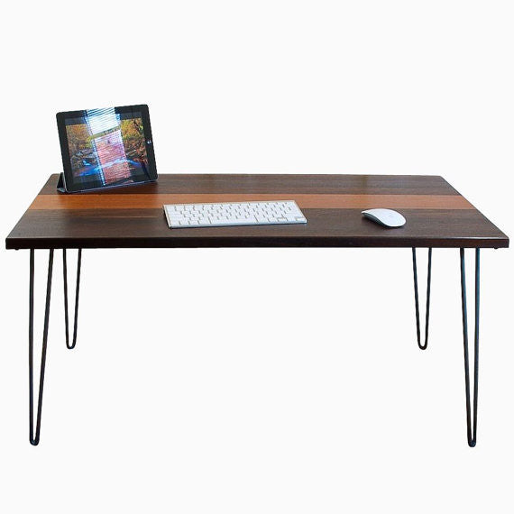 Cielo Mid-Century Modern Executive Desk
