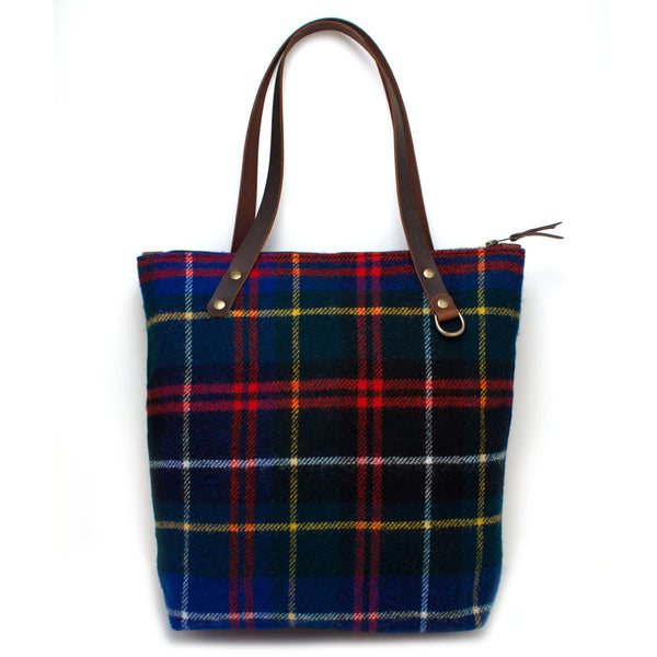 Scotch Tartan Wool Portfolio Tote