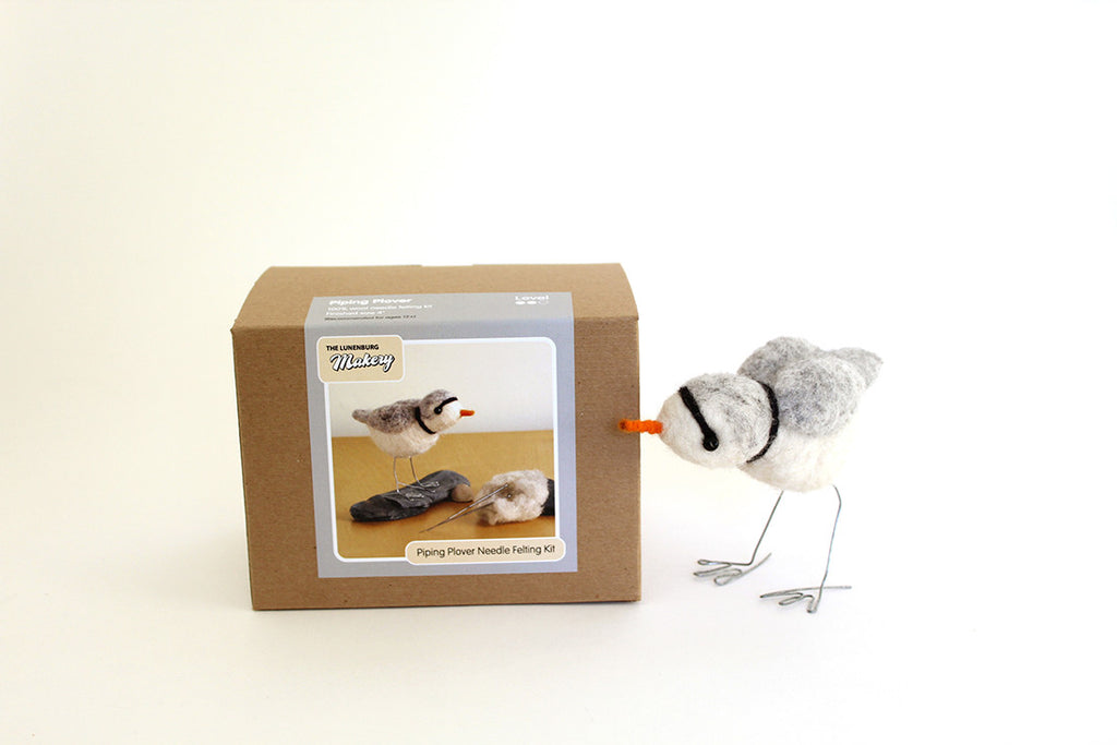 Piping Plover Needle Felting DIY Kit
