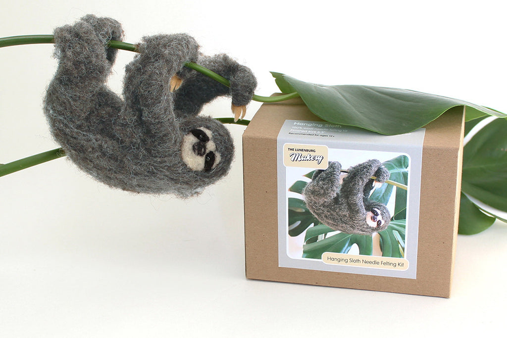 Sloth Needle Felting DIY Kit