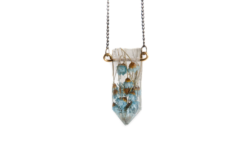 Floral Crystal Necklace