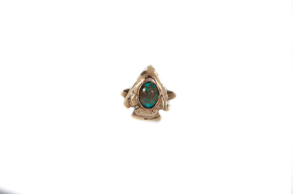 Arrowhead Turquoise Ring