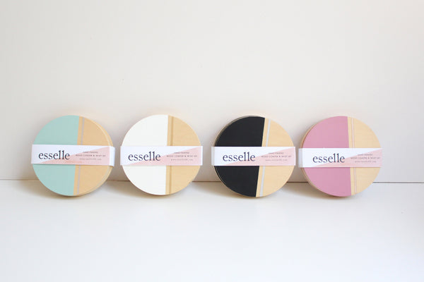 Cedar Moon Coasters (More Colors)