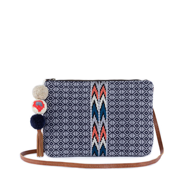 Rosario Cross Body Clutch - Midnight