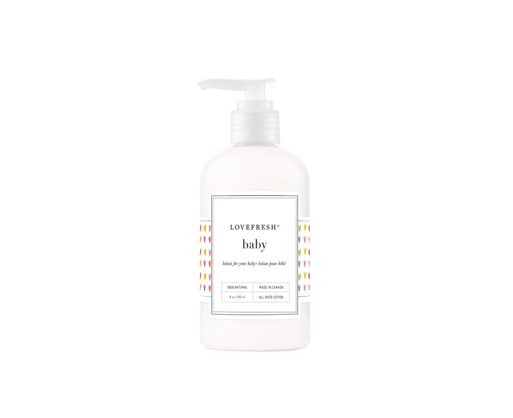 8oz. Baby Lotion