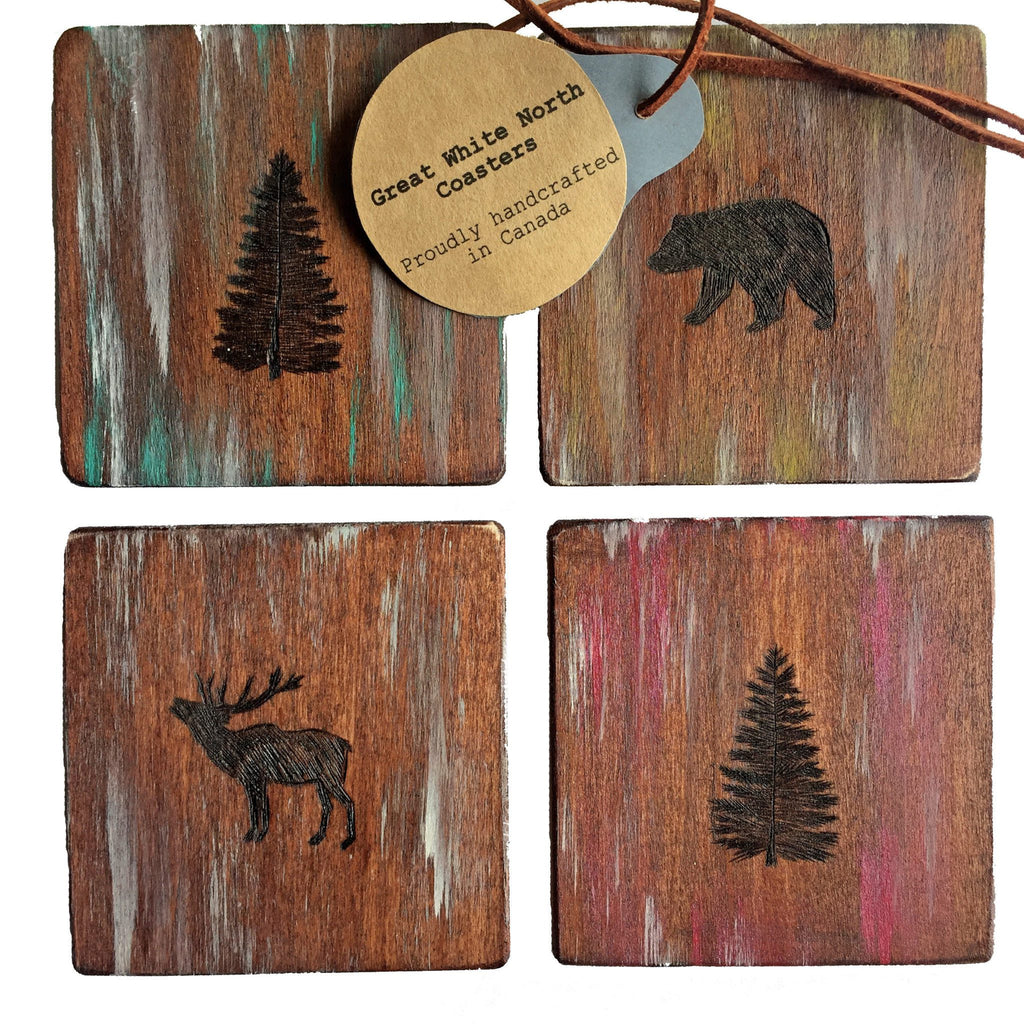 Great White North Coasters