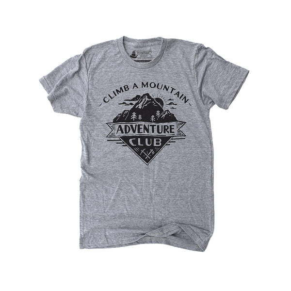 Adventure Club Grey Tee