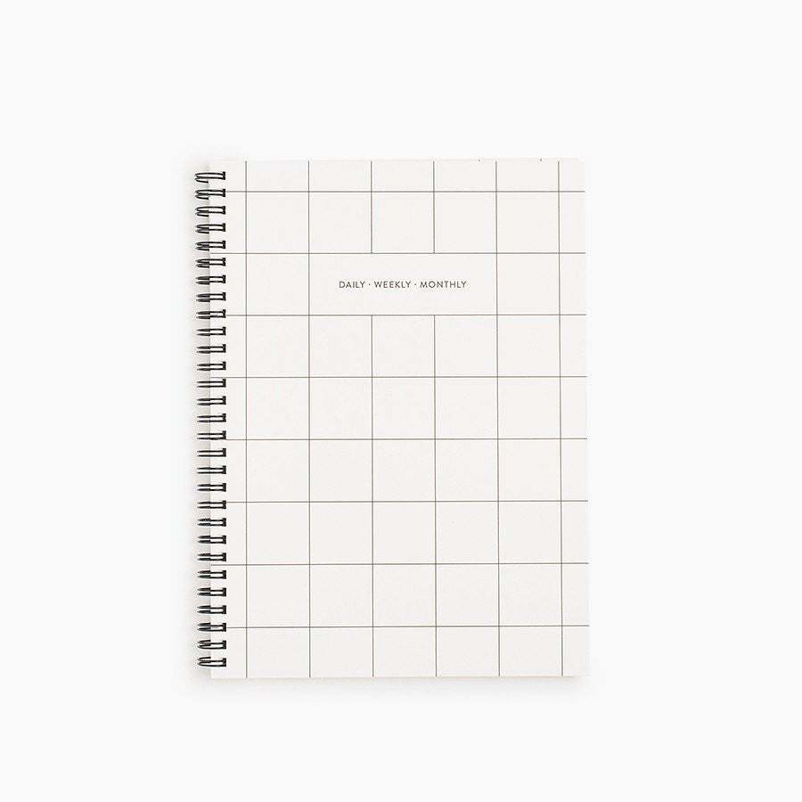 Grid Daily Weekly Monthly Planner