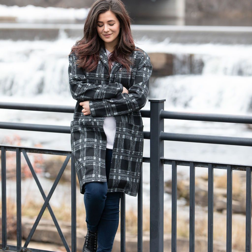 Dwyer Plaid Coat
