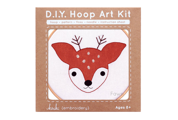 Fawn Hoop Art Kit