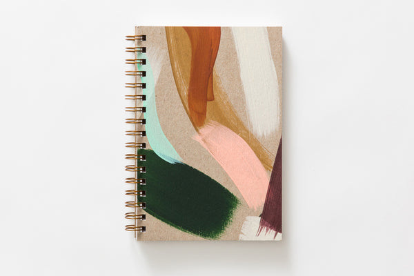 Painted Notebook Cedar