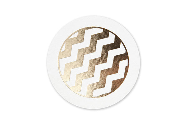 Chevron Coasters (Set of 12)