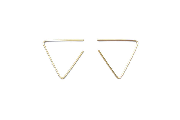 Acute Wired Modern Hoop Earrings