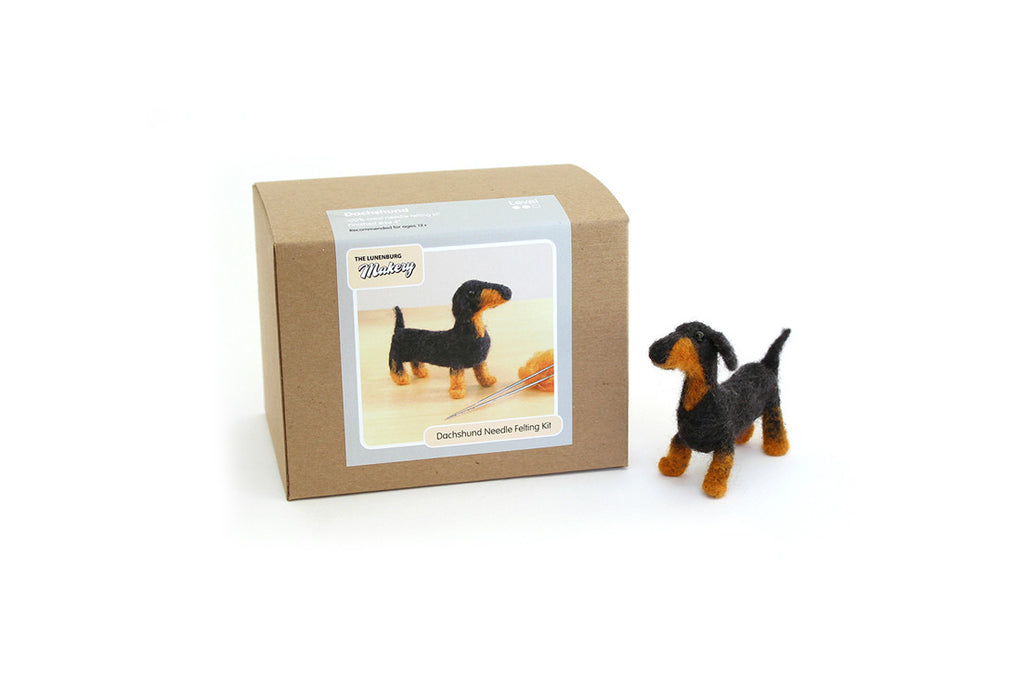 Dachshund Dog Needle Felting DIY Kit – BRIKA