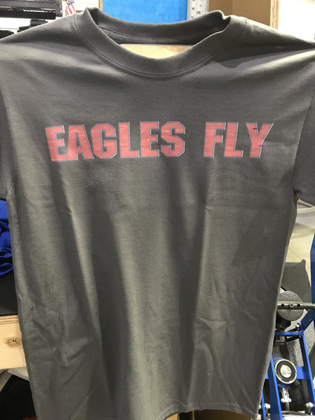 Eagles Fly - Tee - DbyD Printing LLC