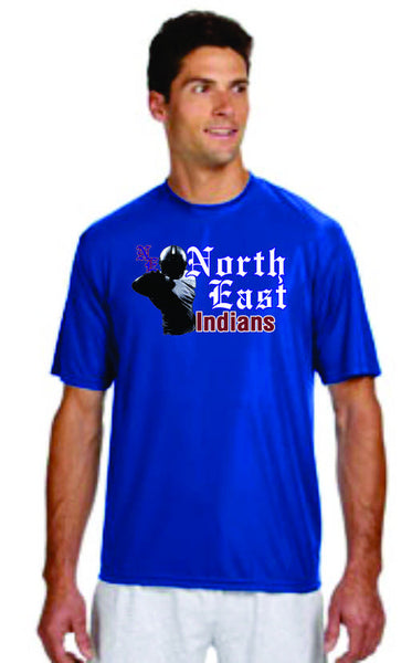 NE Football Performnce Tees - DbyD Printing LLC