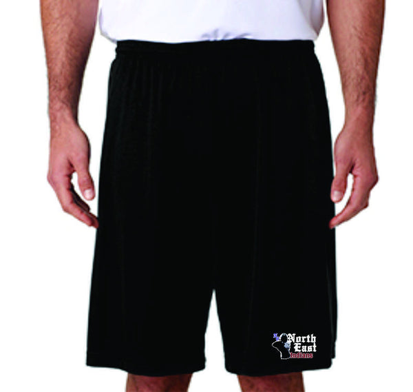 NE Football Performance shorts - DbyD Printing LLC
