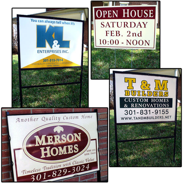 METAL SIGNS (2 SIDED PRINT) - DbyD Printing LLC