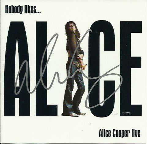 ALICE COOPER - Live Early Recordings CD