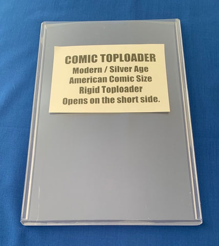 Comic Modern / Silver Age Toploader - Pack Of 3