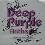 DEEP PURPLE: ANTHEMS Multi Signed CD Sleeve