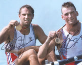 MATTHEW PINSENT & STEVE REDGRAVE - Dual Signed
