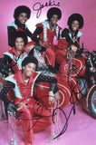 "THE JACKSON 5 - Multi-Signed - 8"" x 12"" - (6)"