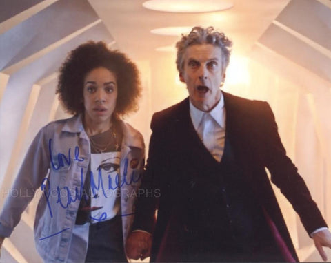 PEARL MACKIE - Bill - Doctor Who (Full Signature) - (3)