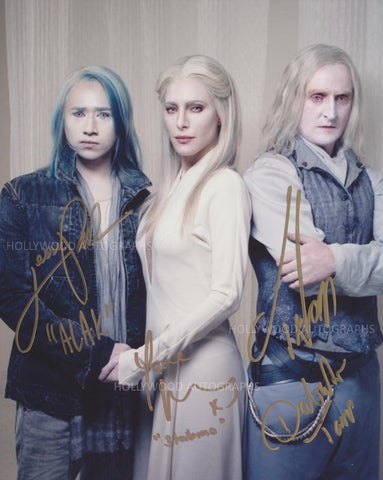 DEFIANCE CAST SHOT - Signed by Three