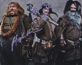JAMES NESBITT, STEPHEN HUNTER & WILLIAM KIRCHER - The Hobbit - Multi-Signed