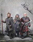 ADAM BROWN & MARK HADLOW - The Hobbit - Multi-Signed