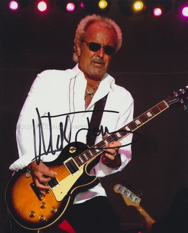 "MICK JONES - Foreigner - 8"" x 11"" - (3)"