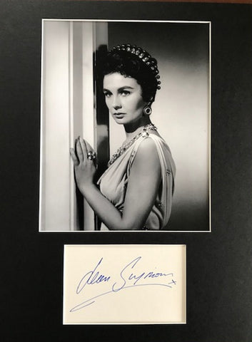 JEAN SIMMONS - Hollywood Legend