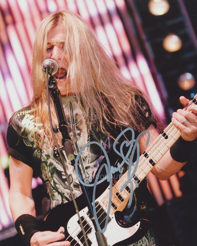 JAMES LOMENZO - Megadeth / Black Label Society