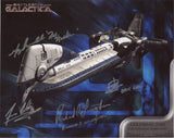 BATTLESTAR GALACTICA Multi Signed Cast Photo