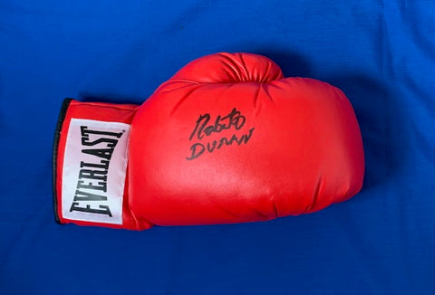 ROBERTO DURAN - Rocky II - Signed Boxing Glove