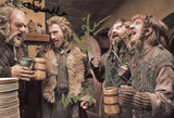 "THE HOBBIT Multi Signed 8""x 12"" Cast Photo - Signed by 4"