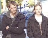JOEL KINNAMAN and MIREILLE ENOS - The Killing - Dual Signed