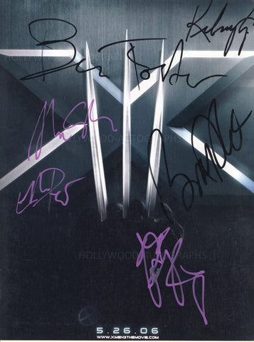 X-MEN: THE LAST STAND - Multi-Signed Photo - 6 Autographs